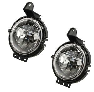 New Mini Cooper Set Of 2 Front Fog Lights Left Right Tyc 63172751295