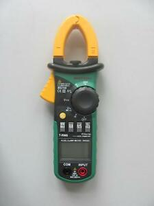 Ms2108a 4000 Ac Dc Clamp Meter 1000v 400a Analog Bar Max Frq Cap Catiii Vs Fluke