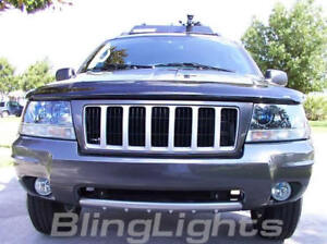 Xenon Fog Lights Lamps Foglamps Foglights Kit For 2004 2010 Jeep Grand Cherokee