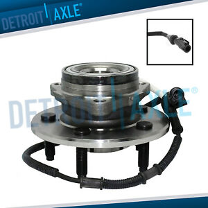 Front Wheel Bearing And Hub For 2000 2001 2002 2003 Ford F 150 F150 W abs 4x4
