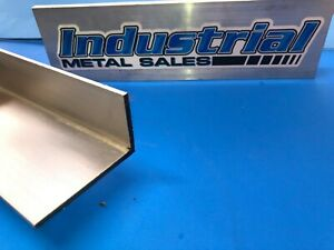 1 1 2 X 2 1 2 X 12 Long X 1 8 Thick 6063 T52 Aluminum Angle 1 5 X 2 5