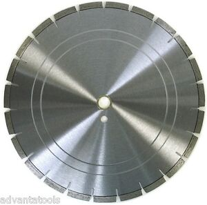 24 Laser Welded Diamond Saw Blade For Cured Concrete Hard Brick Pavers Stone