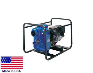 Trash Pump Commercial Indust 13 Hp Honda 44 Psi 36 000 Gph 4 Ports