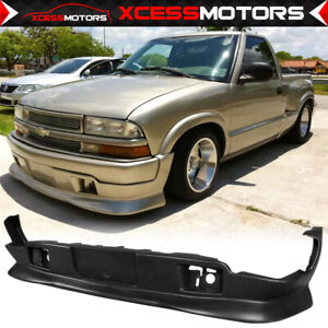 Fits 98 04 Chevy Blazer Extreme Style Pu Urethane Front Bumper Lip Spoiler