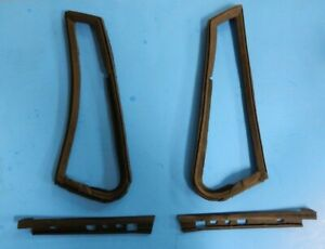 Set Of New Vent Window And Window To Door Seals For Mgb 1963 80 Roadster 4 Pc