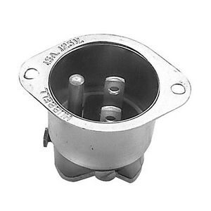 Flanged Inlet 15a 125v Straight Blade Alto shaam Warmer 500s 750s 1000s 381330