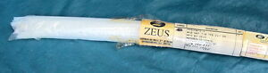 31 Pieces Of New Zeus Heat Shrinkable Sleeving 12 X 4 Clear Tube Shrink