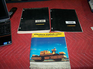 Dynapac Cc 42 Vibratory Roller Operator s Parts Manual Brochure