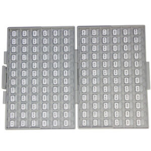 Smd 1206 1 Rohs Sample Assorted Resistor Kit E96 144 Valuex100pcs Box all 10m