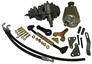 1955 56 57 58 59 Chevy Gmc Power Steering Conversion Small Block Stock Height