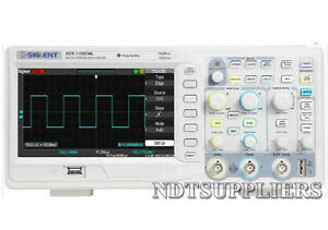 Siglent Sds1152cml Oscilloscope 150mhz 1gsa s Real Time Sample Rate 2mpts Memory
