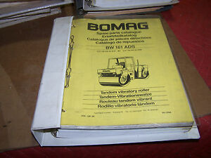Bomag Bw 161 Ads Vibratory Roller Parts Manual