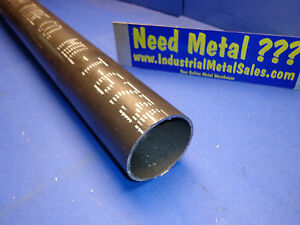 4130 Steel Round Tube 3 Od X 12 long X1 8 Wall 4130 3 Od X 120 wall