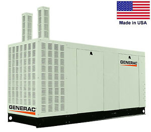 Standby Generator Generac 100 Kw 120 240v 3 Phase Ng Lp Ca Compliant