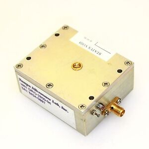 Tampa Dro 2800 04 2 8ghz Rf oscillator Precision Machined W sma Output Connector