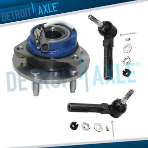 3pc Front Wheel Bearing Hub Outer Tie Rod Pontiac Grand Am Chevy Malibu Alero