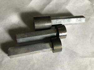 Lot 3 The Pipe Machinery Go No Go Plug Gage Nogo 1 641 1 6480 1 6480 aa