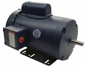 3 Hp 3450 Rpm 145t 230v Leeson Electric Motor Tefc new free Shipping