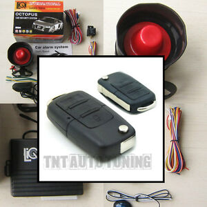 Car Alarm Security System Remote Central Locking Kit For Vw Golf Audi A3 A4