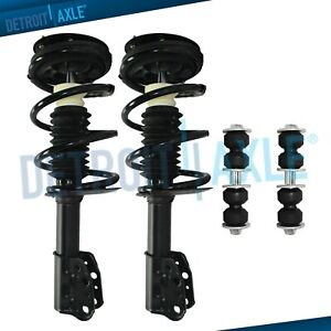 Malibu Grand Am Complete Front Struts W Coil Springs Sway Bar End Links