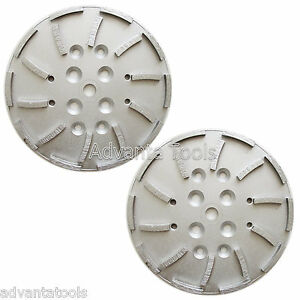 2pk 10 Concrete Grinding Head For Edco Blastrac Floor Grinders 20 Segments