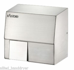 Fastdry Hk1800sa 110v 120v Automatic Hand Dryer stainless Steel surface Mount