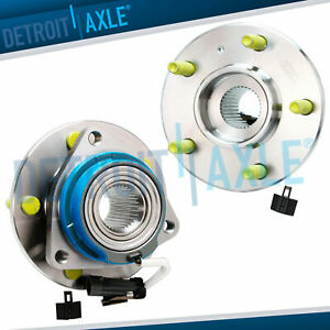 Front Wheel Hub Set With Abs For 2002 2003 2004 2005 Chevy Venture Awd Fwd