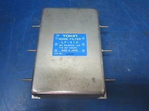 Tokin Noise Filter Lf 315 250v 15a 1500v