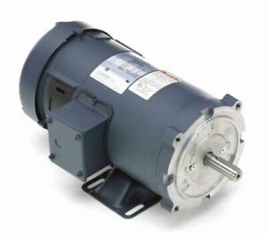 1 Hp 2500 Rpm 90 Volts Dc 56c Frame Tefc Leeson Electric Motor 108020