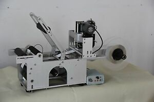 Automatic Round Bottle Labeling Machine With Date Printing Machine free Shipping