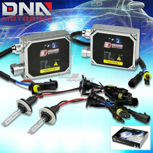 Dt 9006 6000k Blue Xenon Hid Low Beam Light Headlight Bulb ballast Kit Saturn