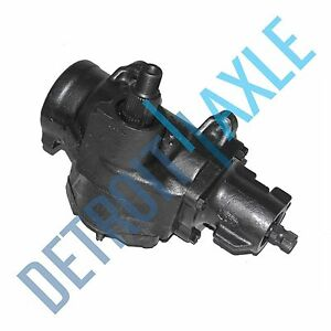 Chevy Gmc Complete Power Steering Gear Box Assembly 33 Spline Sector Shaft