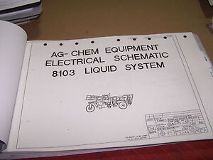 Agco Ag chem Equipment 8103 Diagrams Schematics