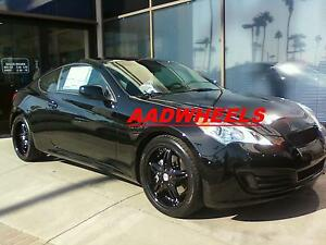 19 Staggered Dvinci Attivo Black Wheels tires Fit 350z G35 G37 Bmw 328 Genesis