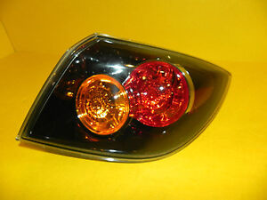 04 05 06 Mazda 3 Hatchback Right Passenger Tail Light Oem 2004 2005 2006