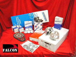 Pontiac Tempest 195 Engine Kit Gaskets Pistons Dish Top Bearings Gaskets Rings