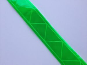 Reflective Sew On High Gloss Trim Tape Green 1 20 Ft