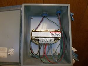 3 Phase Line Reactor Choke 600 Volt 6 Amp Max With Nema 3 Enclosure