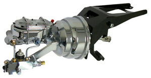 1947 53 Chevy And Gmc Truck Chrome Firewall Mount Power Brake Booster Kit
