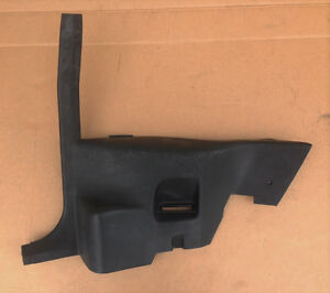 1982 1988 Camaro Rh Rear Interior 1 4 Panel Trim Black 11