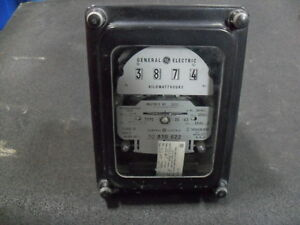 Used General Electric 700x63g932 Polyphase Watthour Meter Ds 63