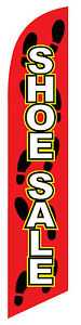 Shoe Sale Feather Banner Swooper Flag Kit Includes Pole Set Spike