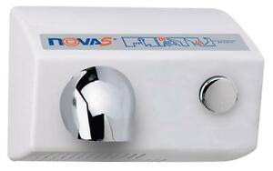 Nova 5 model 0112 By World Push Button Hand Dryer 120v Replaces Mod 0110