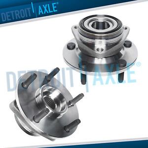 2 Front Wheel Bearing Hub For 1994 1995 1996 1997 1998 1999 Dodge Ram 1500