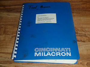 Cincinnati Cintrojet T iv Solid State Manual Edm General Purpose Power Supply