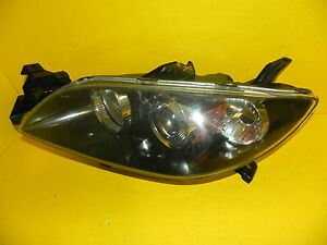 2004 2009 Mazda 3 Sedan Left Driver Halogen Headlight Oem 2005 2006 2007 2008