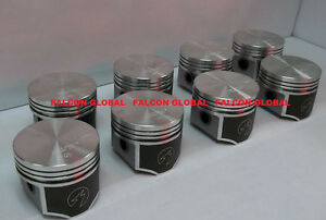 Speed Pro Trw Chrysler Dodge Plymouth 440 Forged Flat Top 4 Barrel Pistons 8 30