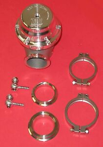 Tial Mv s 38mm External Waste Gate Kit Turbo V band Flange Silver New