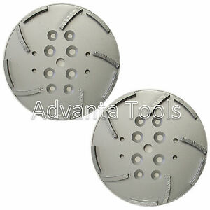 2pk 10 Concrete Grinding Head For Edco Blastrac Floor Grinders 10 Seggments