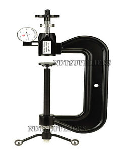 Brand New Phr 8 4 Portable Large C Clamp Rockwell Hardness Tester Meter